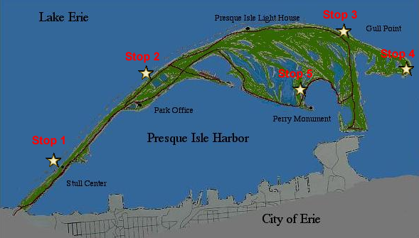 Day 5 Preque Isle State Park: Presque Isle State Park Map At Codeve.org