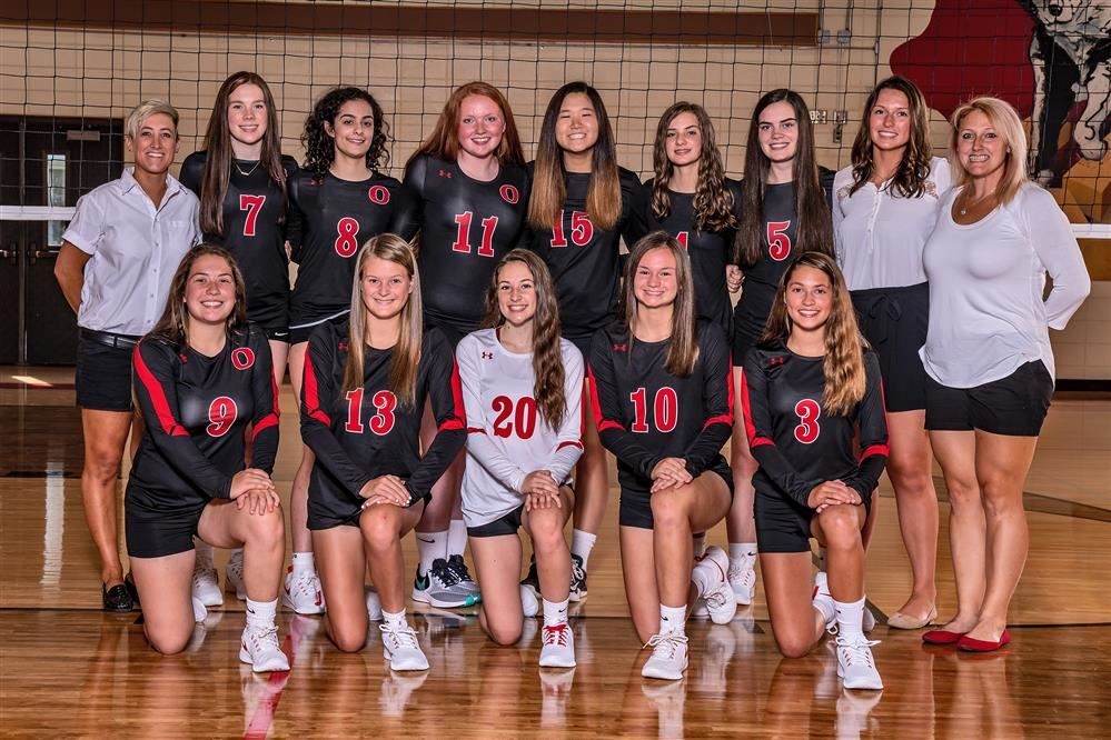 2019 Girls Varsity Volleyball Team