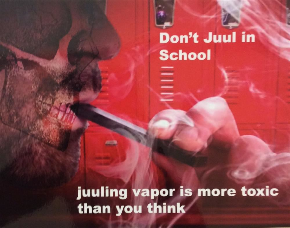 Media Literacy Class Warns Students About the Dangers of Vaping in School