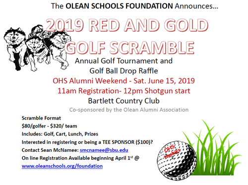 Red and Gold Scramble Information